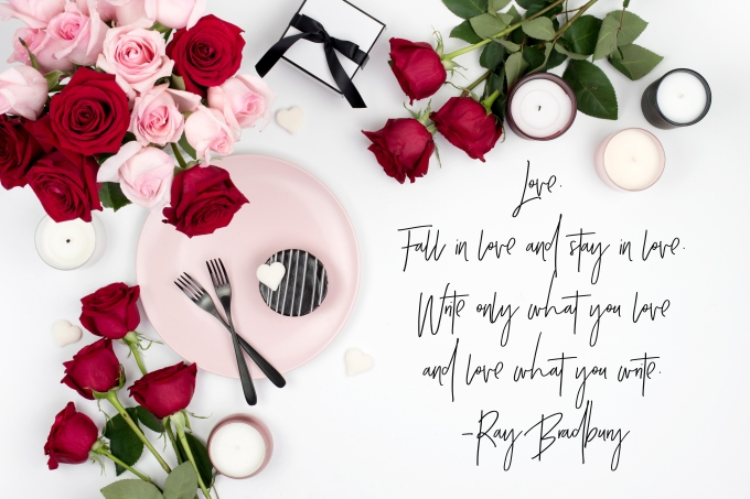 Valentine flatlay 3
